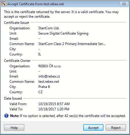 Auto FTP Manager : SSL Certificates