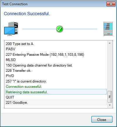 FTP Manager Lite : How to create a new connection profile?