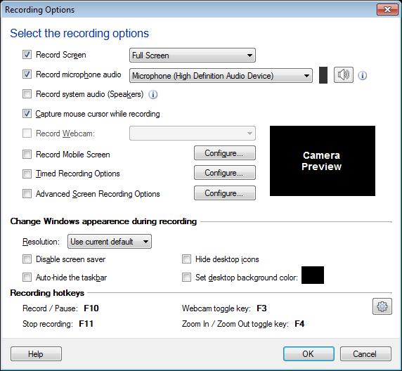application window definition
