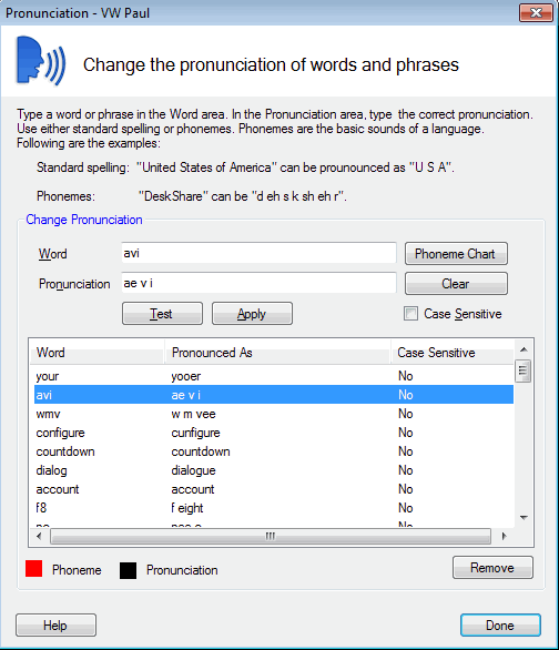 Pronouncing symbols in Text Speaker
