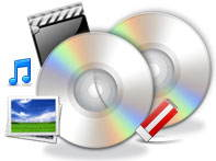 DVD Author Plus - Create audio CD's and data disc