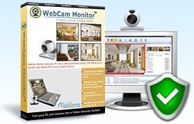 Free webcam surveillance software