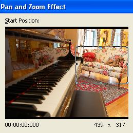 The Pan and Zoom Effect