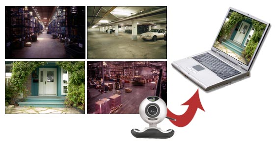 WebCam Monitor - Setting up a PC video surveillance system